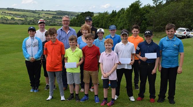 Junior Golfers at Allendale Make Hay While the Sun Shines!!